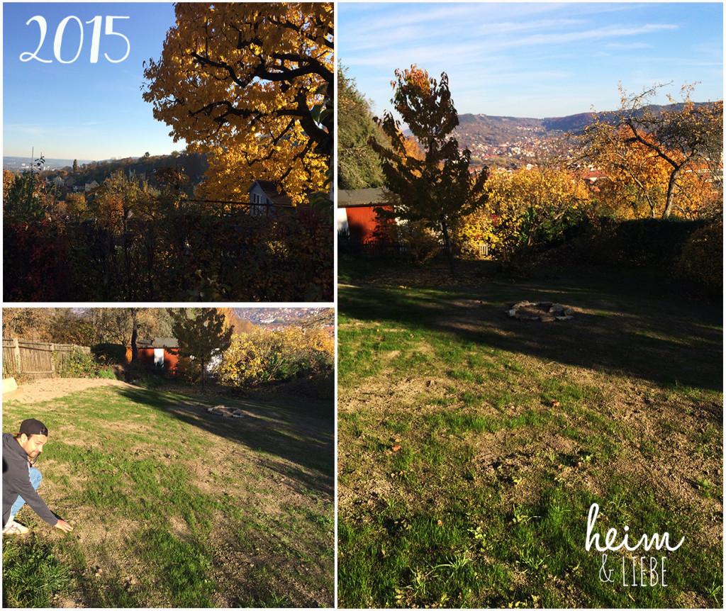 Unser garten im Herbst 2015