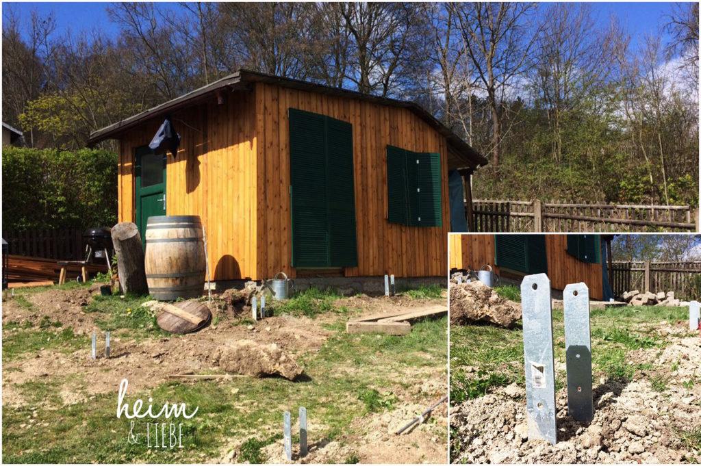 Terrasse aus Holz selber bauen